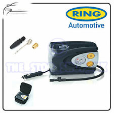 Ring 12v Car Automatic Analogue Tyre Air Compressor Inflator Pump RAC620