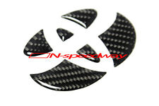 For Toyota GT 86 FT86 Coupe Front Hood Emblem Carbon Fiber Decal Filler Insert