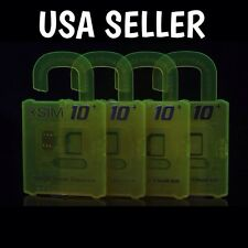 R Sim 10+ Card Unlock For iPhone 4s 5 6 Plus iOS 9.x. LTE RSIM 10+ Nano