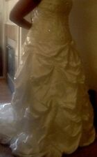 Custom Wedding Dress Plus Size 18 Purchased $1500.00