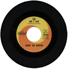 "IVORY JOE HUNTER  ""THE LIFE I LIVE""    R&B CLASSIC MOVER      LISTEN!"