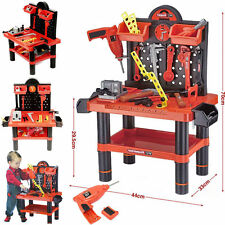 Strumento creativo Bench PLAY SET LAVORO NEGOZIO strumenti KIT ragazzo bambino giocattolo Workbench