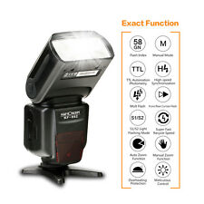 K&F Concept TTL Flash Speedlite Master/Slave Unit HSS 1/8000s Wireless for Nikon