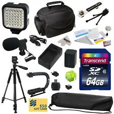 Advanced Accessories Kit for Sony HDR-CX560 HDR-CX560V HDR-CX580 HDR-CX580V