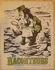 2006 The Raconteurs - Seattle Silkscreen Concert Poster S/N by Rob Jones