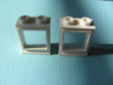 LEGO 7026 @@ Window 1 x 2 x 2 with Extended Lip, with Glass, Hole in Top @ WHITE
