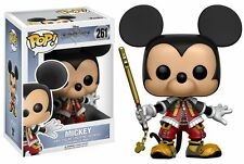 FIGURE KINGDOM HEARTS II III MICKEY MOUSE TOPOLINO POP FUNKO BIRTH BY SLEEP AQUA