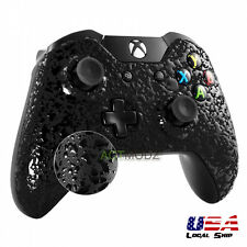 Front Housing Shell Faceplate Case for Xbox One Controller Textured Black