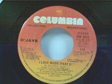 "O'JAYS ""I LOVE MUSIC / PART 2"" 45 MINT"