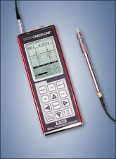 "TI-PVX-2550 Ultrasonic A-scan Thickness Gauge with 1/4"" 5MHz Delay Line Probe"