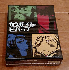 NEW Cowboy Bebop Complete Series Amazon Exclusive Edition Blu-ray/DVD Rare OOP