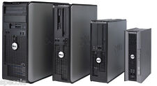 Dell Desktop Pc Tower Core 2 Quad Cpu 1 Tb Hard Drive 4GB Ddr2 Ram Wi-Fi Win7