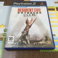 RESIDENT EVIL OUTBREAK FILE 2 - SONY PLAYSTATION 2 PSTWO PS2 GAME - MINT