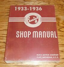 1933 1934 1935 1936 Buick Shop Service Manual 33 34 35 36