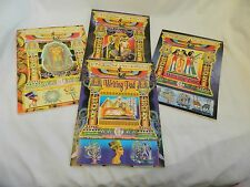 """2 Egyptian Papyrus Look Paper Writing pad Note Pad 6.5"""" X 9.5`"""""""