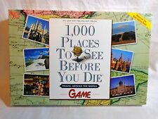 1000 Places to See Before You Die Family Board Game 2005 University Games EUC