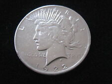 "MDS USA ONE DOLLAR 1922 ""PEACE-DOLLAR"", SILBER #13"