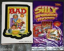 SILLY SUPERMARKET LIKE WACKY PACKAGES COMPLETE SET