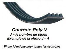 Courroie Poly V 508J4 pour combiné Lurem C20