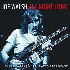 JOE WALSH of THE EAGLES New Sealed 2016 UNRELEASED 1981 SOLO CONCERT CD