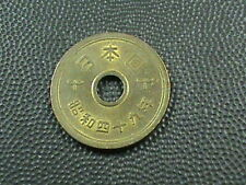 JAPAN    5 yen   1974   ( 49 )   HIROHITO  -  SHOWA
