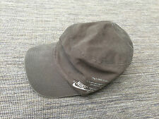 VTG NIKE HAT MEDIUM ADULT BASEBALL CAP TRUCKER FESTIVAL BROWN KHAKI 90s
