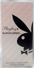 PLAYBOY PLAY BOY PLAY IT LOVELY.. 2.5 OZ / 75 ML EAU DE TOILETTE SPRAY NIB WOMAN
