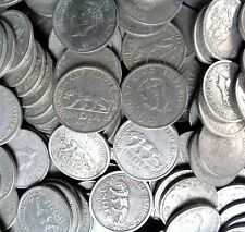 100 Coins LOT - ½ Rupee - George VI 1946-1947 Nickel – 5.8 g – - British india