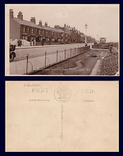 UK LINCOLNSHIRE CLEETHORPES KINGSWAY GARDENS C.& A.G. LEWIS REAL PHOTO ca 1915