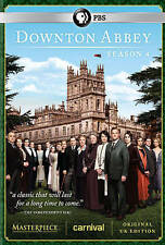 Downton Abbey: Season 4 Bonus 30m NEW SEALED  (DVD, 2014, 3-Disc Set) FREE SHIP