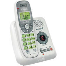 Vtech White Cordless Home Phone Telephone Answering Machine Set System DECT 6.0