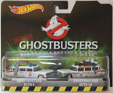 Hot wheels 2-pack-Ghostbusters Ecto - 1 & ECTO - 1a Nouveau/OVP