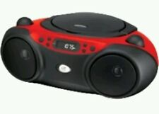 GPX Radio/CD Player Boombox BC232R red free shipping