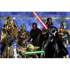 Home Kids Star Wars Wall Mural Photo Backdrop Banner Birthday Party Decor 60x40""