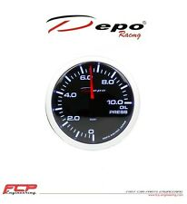 DEPO RACING DIGITAL ÖLDRUCK ANZEIGE / OIL PRESSURE GAUGE PK-WA5227B 52mm 0-10BAR