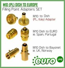 LPG Autogas All Filling Point Adapter Set From Europe To UK England Propane GPL