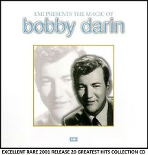 Bobby Darin - Very Best 20 Greatest Hits Collection RARE CD 60's Big Band Swing
