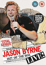 Jason Byrne - Out Of The Box (DVD) Filmed In Vicar Street Dublin