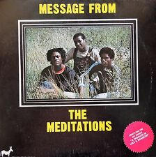 ROOTS LP / THE MEDITATIONS / MESSAGE FROM THE MEDITATIONS / WILD FLOWER