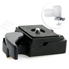 SLR DSLR Camera Lens Tripod Quick Release Clamp Plate Mount Screw Adapter New