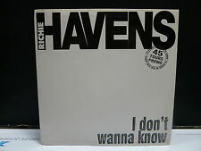 RICHIE HAVENS I don't wanna know LOR 910003 SP PROMO