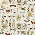Clarke and Clarke Wildlife Multi Design Curtain Upholstery Craft Fabric