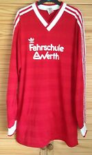 ADIDAS VINTAGE RETRO TRIKOT WEST GERMANY MAILLOT MAGLIA FOOTBALL SHIRT JERSEY L