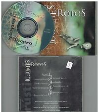 Juguetes Rotos - Rusticos & Sinceros  CD DEMO 1998