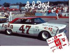 CD_1555 #47 A.J. Foyt   1965 Ford 1:24 decals