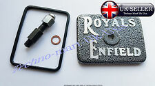 NEW ALLOY ROYAL ENFIELD BULLET TAPPET COVER ASSEMBLY FITTING KIT @ UK