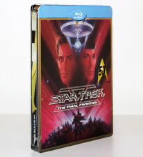 STAR TREK. THE FINAL FRONTIER [STEELBOOK LIMITED EDITION BLU-RAY DISC] RARO
