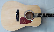 GREG BATES Signed New Acoustic Guitar Did It for the Girl / Fill In the Blank GA