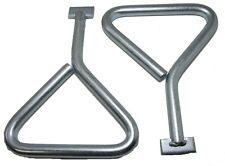 2pk manhole cover keys t-fin - 170mm plombiers vidange couvercle plaque de levage outil PB016