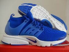 NIKE AIR PRESTO FLYKNIT ULTRA RECALL BLUE-WHITE SZ 14 [835570-400]